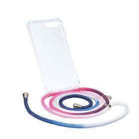 Axento telefoonkoord+hoesje ocean/candy iPhone 7/8