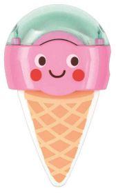 Be Happy gum & puntenslijper Aardbei