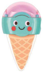 Be Happy gum & puntenslijper Smurf