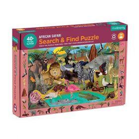 Bertoy Puzzel Safari 64 stukjes