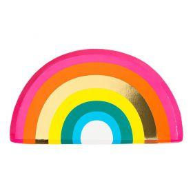 Bordjes regenboog