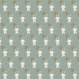 Cadeaupapier Bunny green