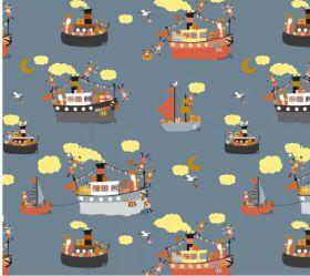 Cadeaupapier Sint Pakjesboot
