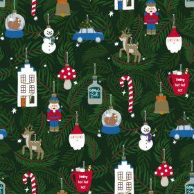 Cadeaupapier X-mas Ornaments