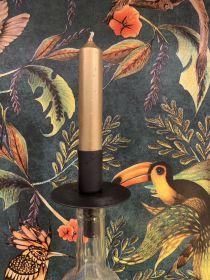 Candle holder zwart