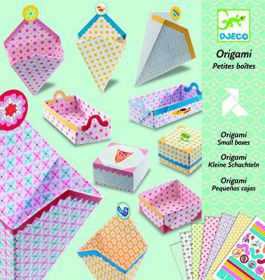 Djeco Origami doosjes vouwen