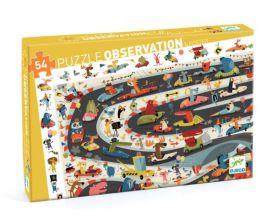 Djeco Puzzel Automobile 54 stukjes