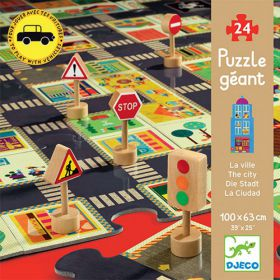 Djeco Puzzel pop to playThe City