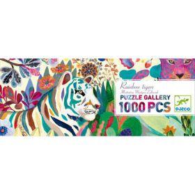 Djeco puzzel Rainbow Tigers 1000
