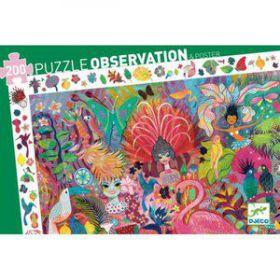 Djeco puzzel Rio Carnaval 200 stukjes