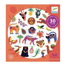 Djeco stickers Exotico strass