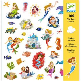 Djeco stickers Zeemeermin