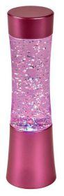 Glitter LED lamp Shake and Shine roze