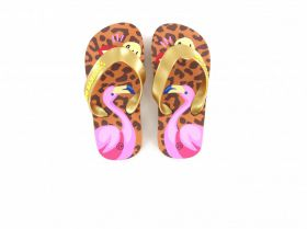 Go Banana's Slippers Flamingo
