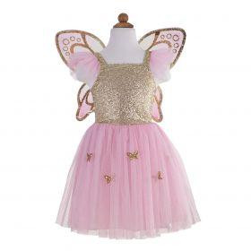 Great Pretender Butterfly jurk 5 - 7 jaar