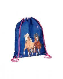 Gymtas Paarden Spiegelburg Blauw