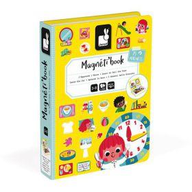 Janod Magneet boek Klok kijken