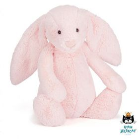 Jellycat Bashful Pink Bunny Large
