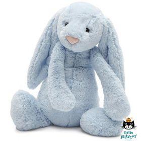 Jellycat knuffel Bashful Blue Konijn 51 cm