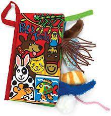 Jellycat Pet Tails knisperboekje