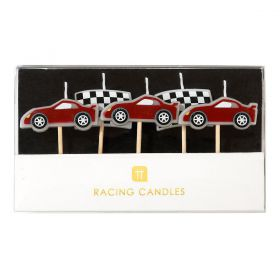 Kaarsjes racers auto's