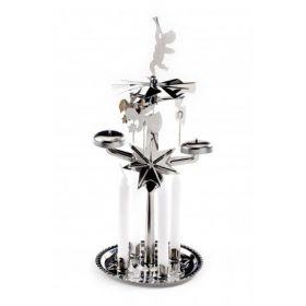 Kerst Angelchimes zilver