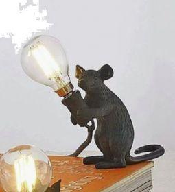 Lampje Muisje Zwart