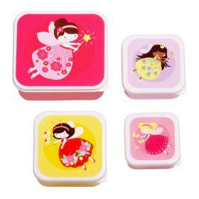 Little lovely Company Lunch & snack box set: Feetje