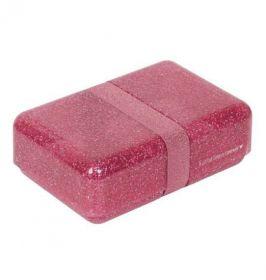 Lunchbox glitter roze