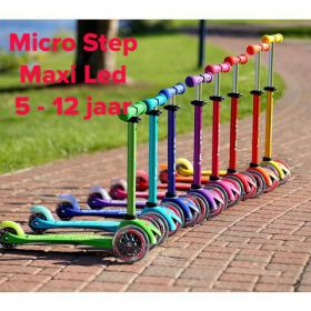 Maxi Micro Step Deluxe Led