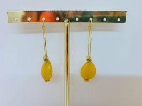 Oorbellen Yellow drop