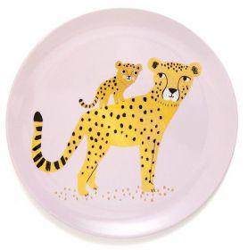 Petit Monkey Bord Leopard roze