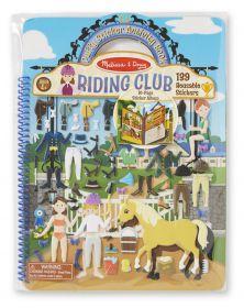 Puffy Stickerboek Paarden