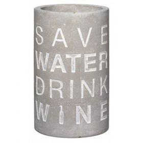 Räder wijn koeler Save water drink wine