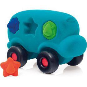 Rubbabu bus blauw