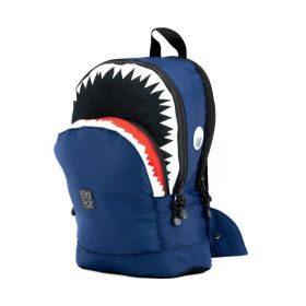 Rugzak Shark shape Navy M