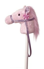 Stokpaard Roze met geluid