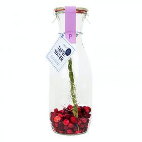 Tafelwater Kers, cranberry & rozemarijn