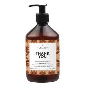 The Gift Label Handzeep Thank you