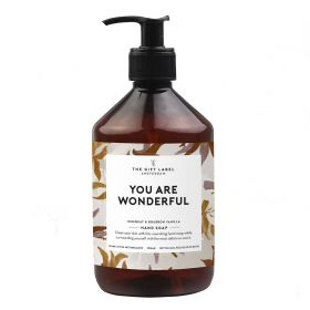 The Gift Label Handzeep You are wonderfull