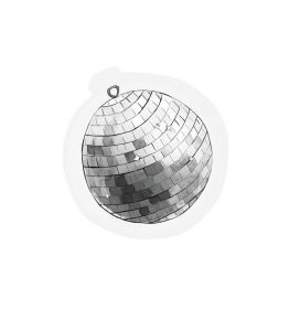 The Gift Label kaart Disco bal