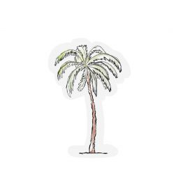 The Gift Label kaart Palm tree