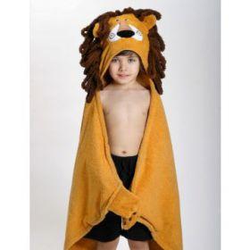 Zoocchini kids badcape Leeuw